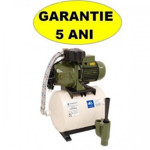 Cumpara online Hidrofor cu ejector aspiratie 30 metri Saer M100 cu vas de 24 litri P=750W h=52 debit 1800 litri-ora