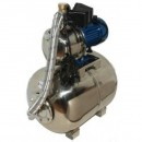 Hidrofor aspiratie 9 metri Jet inox 110 cu vas 50litri din inox P=1100W h=42 m debit 3600 litri-minut