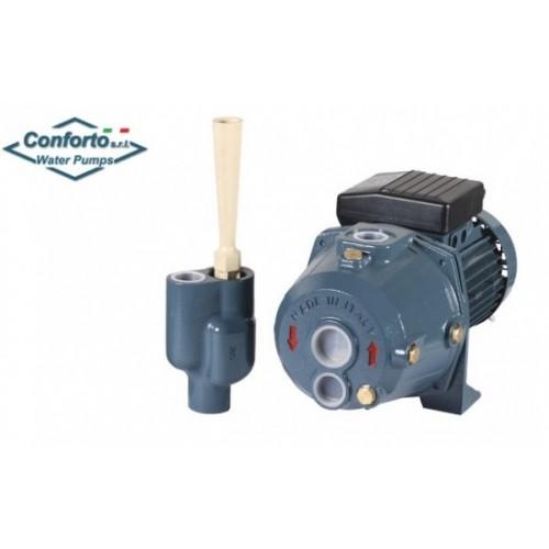 Super oferta la Pompa apa cu ejector Conforto Jap 100 P=1100W h=40 m debit 2100 litri-ora