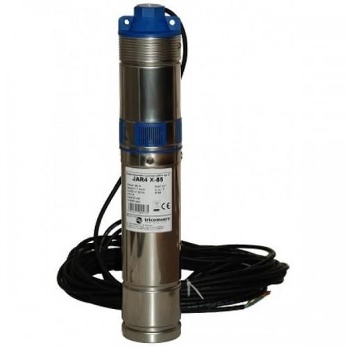 Cauti Electropompa submersibila Jar X110 cu surub P=1100W h=110m debit 2500 litri-ora